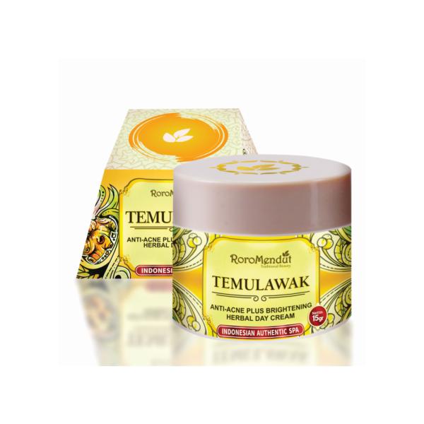 Temulawak Anti-Acne Plus Whitening Herbal Day Cream