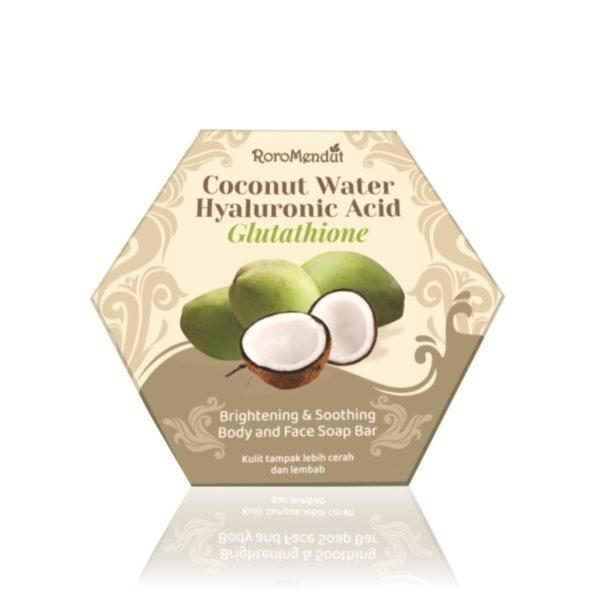 Coconut Water Hyaluronic Acid Glutathione Soap Bar