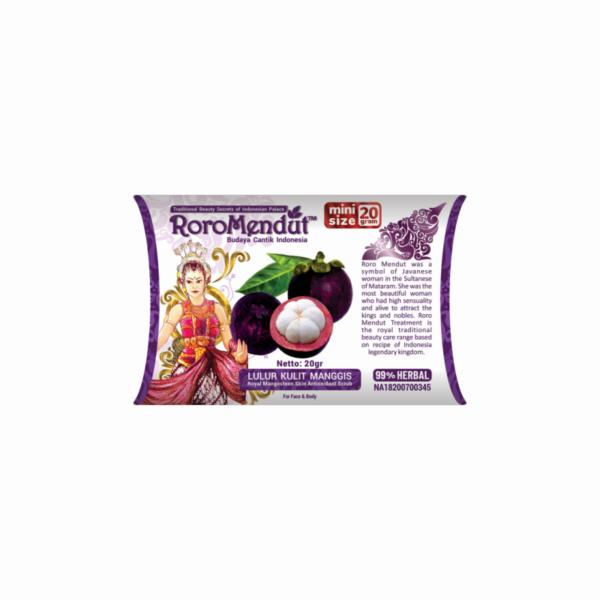 Lulur Kulit Manggis Antioksidan - mini 20 gr