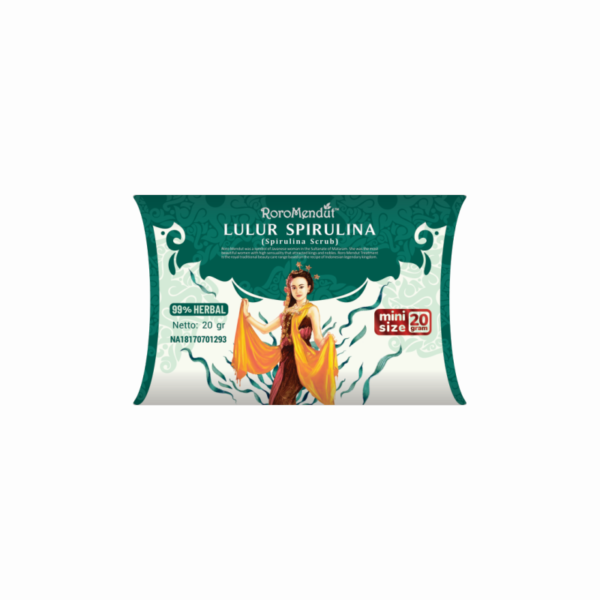 Lulur Spirulina 20 gr