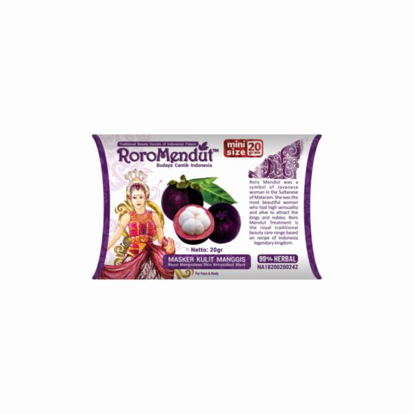 Masker Kulit Manggis Antioksidan - mini 20 gr