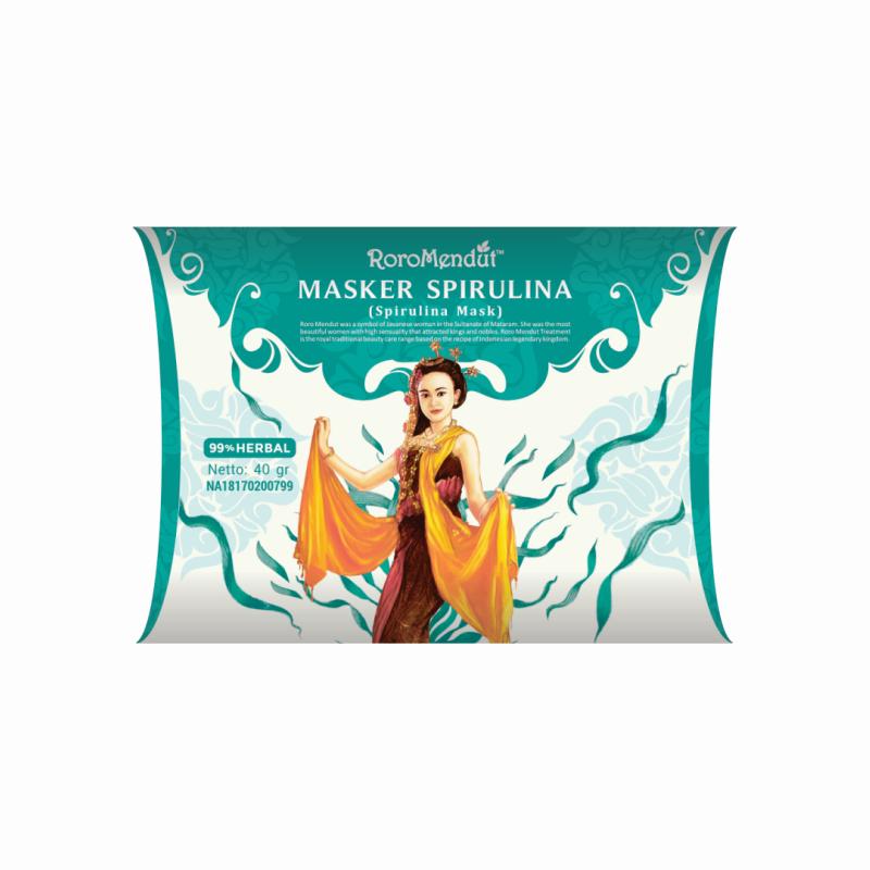 Masker Spirulina 40 gr