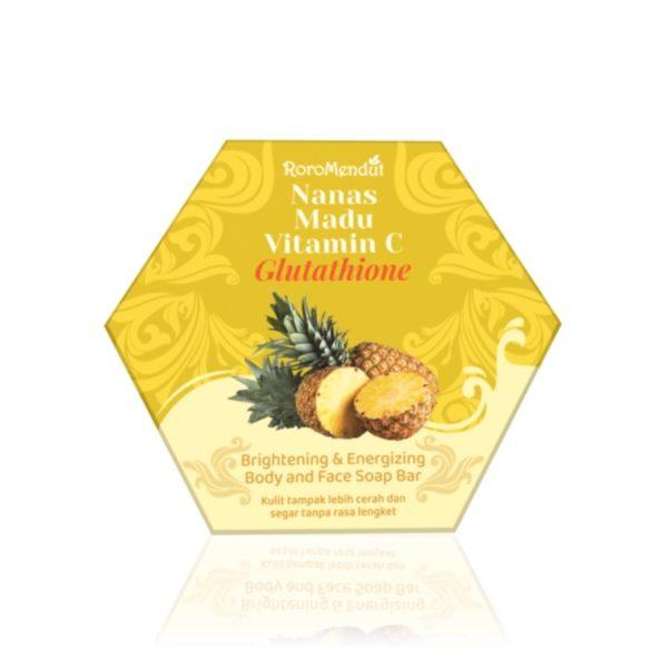 Nanas Madu Vitamin C Glutathione Soap Bar