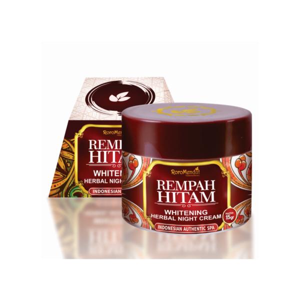 Rempah Hitam Whitening Herbal Night Cream