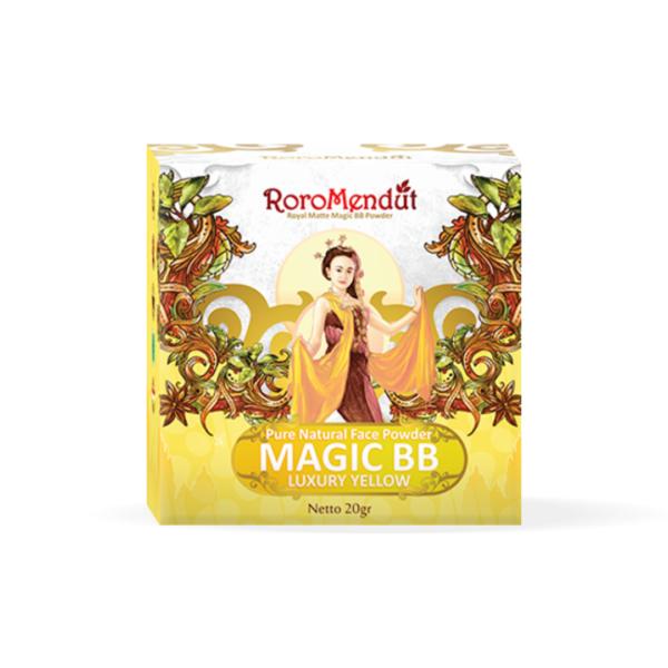 Royal Matte Magic BB Powder - Luxury Yellow