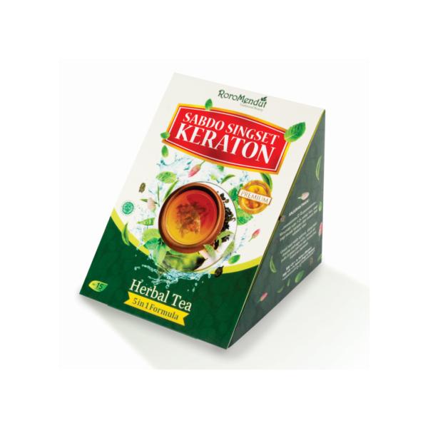 Teh Herbal Sabdo Singset Keraton